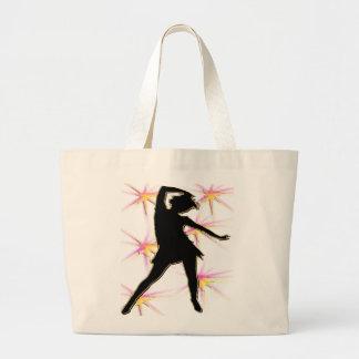 Camisetas y regalos de la diva de la danza bolsa