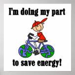 Camisetas y regalos de la energía de la reserva de poster