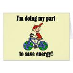 Camisetas y regalos de la energía de la reserva de tarjetón