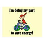 Camisetas y regalos de la energía de la reserva de postal