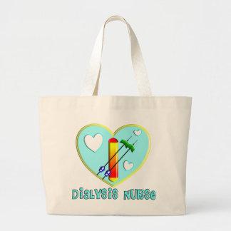 Camisetas y regalos de la enfermera de la diálisis bolsa