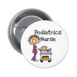Camisetas y regalos de la enfermera de la pediatrí pin