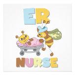 Camisetas y regalos de la enfermera del ER Comunicados Personalizados