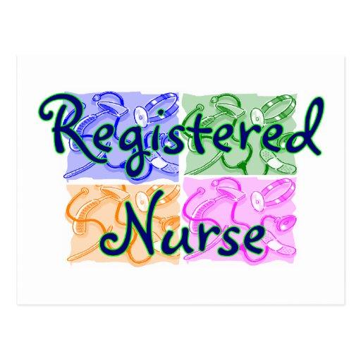Camisetas y regalos de la enfermera tarjetas postales