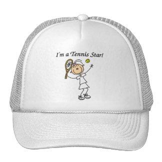Camisetas y regalos de la estrella de tenis del ch gorras de camionero