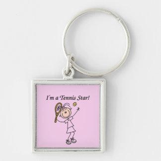 Camisetas y regalos de la estrella de tenis del ch llavero