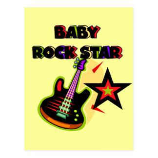 Camisetas y regalos de la estrella del rock del tarjeta postal