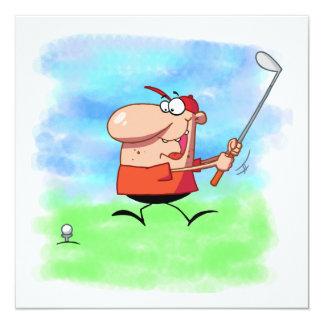 Camisetas y regalos de la excursión del golf comunicado personal