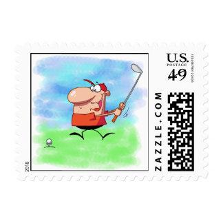 Camisetas y regalos de la excursión del golf sellos