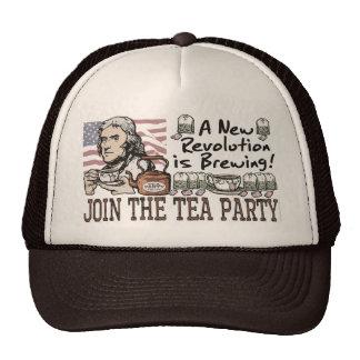 Camisetas y regalos de la fiesta del té de Thomas  Gorra