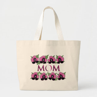 Camisetas y regalos de la flor para la mamá bolsa