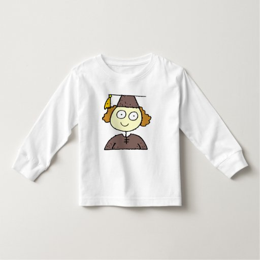 Camisetas y regalos de la graduación de los chicas remera