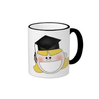 Camisetas y regalos de la graduación de los chicas taza de café