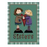 Camisetas y regalos de la hermana del país postales