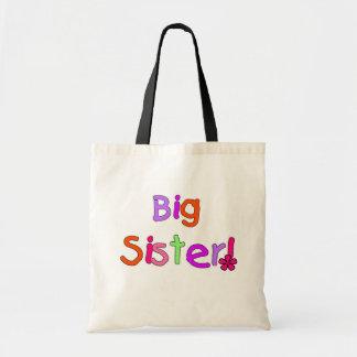 Camisetas y regalos de la hermana grande bolsa tela barata