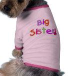 Camisetas y regalos de la hermana grande prenda mascota