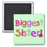 Camisetas y regalos de la hermana más grande iman