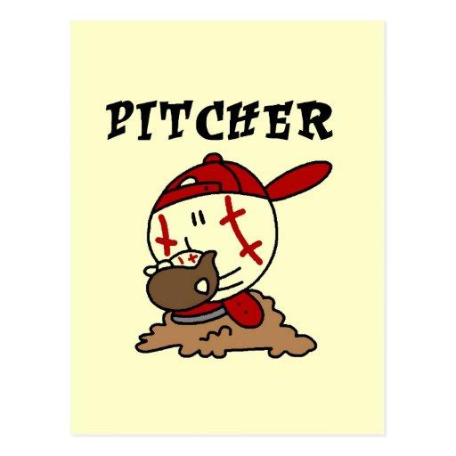 Camisetas y regalos de la jarra del béisbol postales