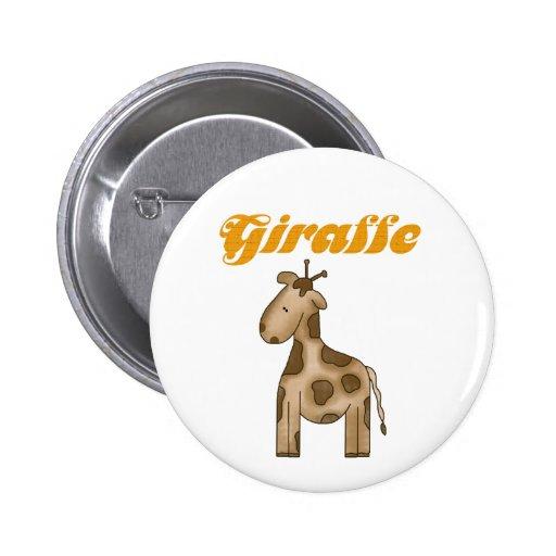 Camisetas y regalos de la jirafa pin redondo 5 cm