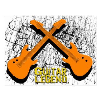 Camisetas y regalos de la leyenda de la guitarra postal