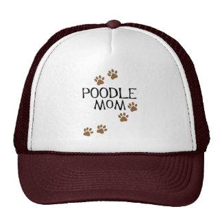 Camisetas y regalos de la mamá del caniche gorros