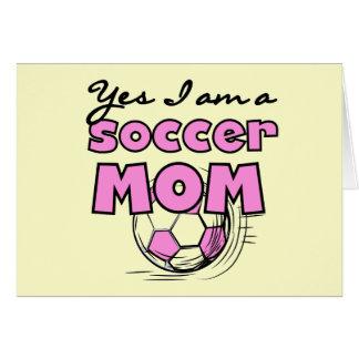 Camisetas y regalos de la mamá del fútbol felicitacion