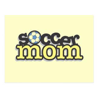 Camisetas y regalos de la mamá del fútbol postal