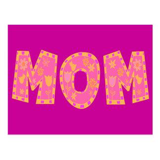 Camisetas y regalos de la mamá para ella tarjetas postales