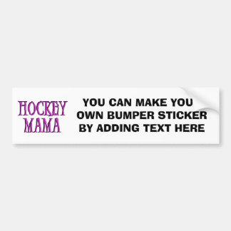 Camisetas y regalos de la mamá rosa fuerte del hoc pegatina para auto