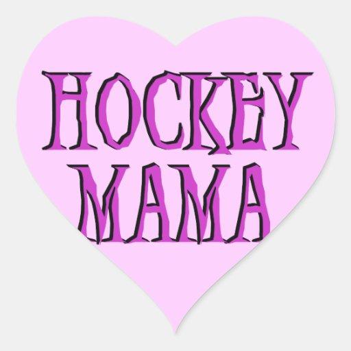 Camisetas y regalos de la mamá rosa fuerte del calcomanías de corazones personalizadas