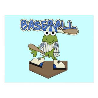 Camisetas y regalos de la meta del béisbol de la tarjeta postal