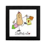 Camisetas y regalos de la nuez de las compras caja de regalo