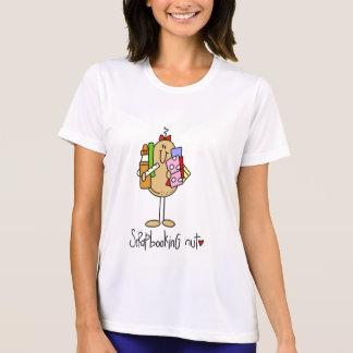 Camisetas y regalos de la nuez de Scrapbooking Playeras