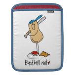Camisetas y regalos de la nuez del béisbol mangas de iPad