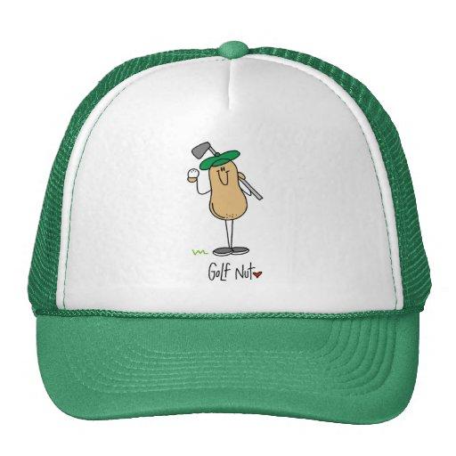 Camisetas y regalos de la nuez del golf gorros bordados