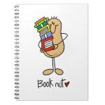 Camisetas y regalos de la nuez del libro libreta