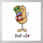 Camisetas y regalos de la nuez del libro posters