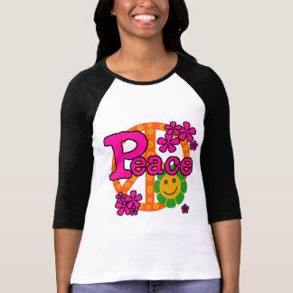 camisetas y regalos de la paz del estilo 60s polera