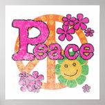 Camisetas y regalos de la paz del vintage posters
