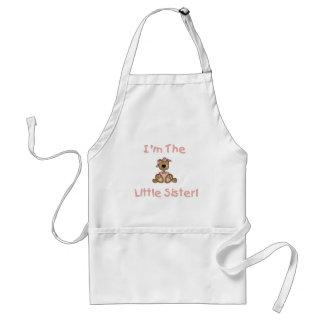 Camisetas y regalos de la pequeña hermana del oso delantal