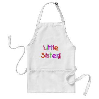 Camisetas y regalos de la pequeña hermana delantal