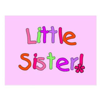 Camisetas y regalos de la pequeña hermana postales