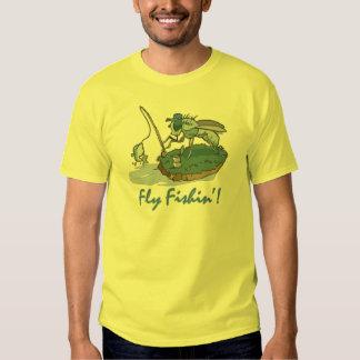 Camisetas y regalos de la pesca con mosca playera