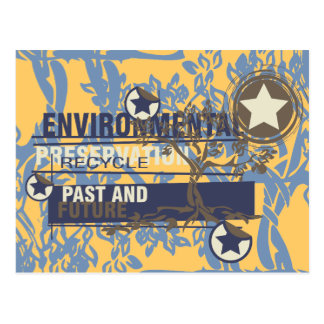 Camisetas y regalos de la preservación ambiental postal