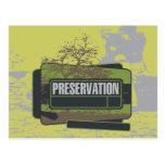 Camisetas y regalos de la preservación tarjetas postales