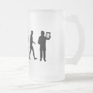 Camisetas y regalos de la radiografía del taza cristal mate