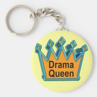 Camisetas y regalos de la reina del drama para ell llavero redondo tipo pin