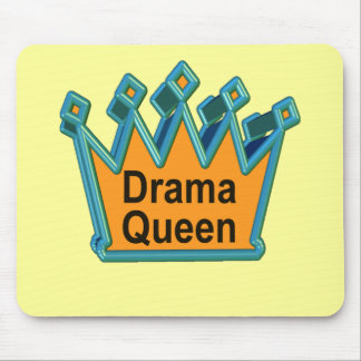 Camisetas y regalos de la reina del drama para ell alfombrilla de ratones