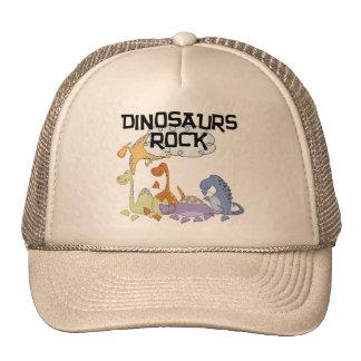 Camisetas y regalos de la roca de los dinosaurios gorro
