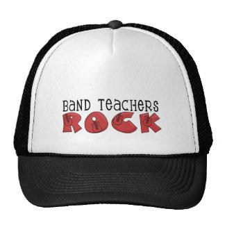 Camisetas y regalos de la roca de los profesores d gorro de camionero